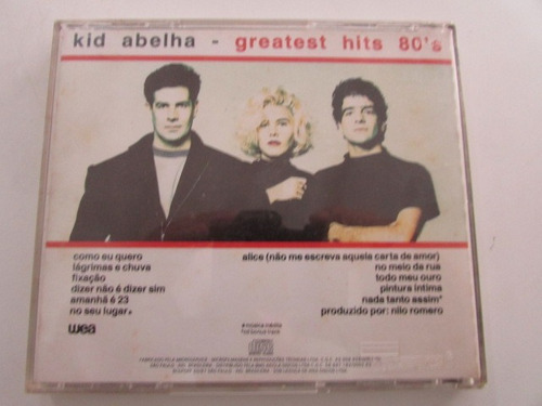 R/m - Cd - Kid Abelha - Greatest Hits 80's