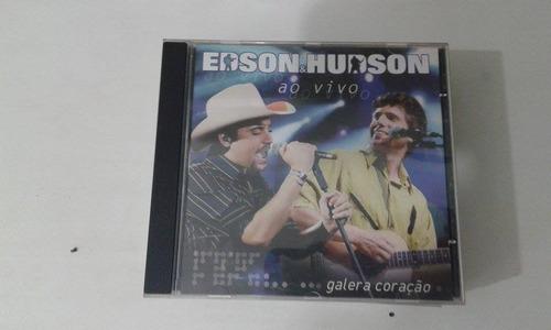r/m - cd original - edson & hudson - ao vivo
