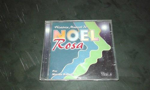 r/m - cd original - historia musical de noel rosa vol 2