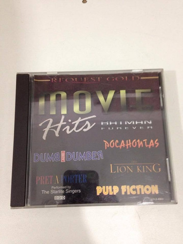 r/m - cd original - movie hits