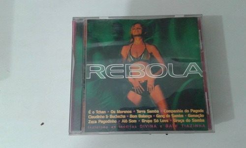 r/m - cd original - rebola - 1999