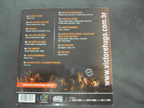 r/m - cd - victor & hugo - ao vivo