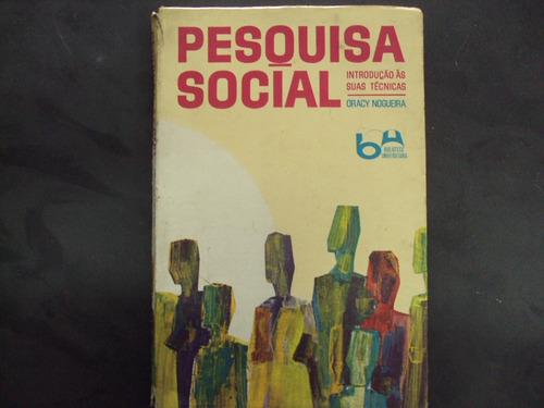 r/m - livro - pesquisa social - introdução as suas técnicas