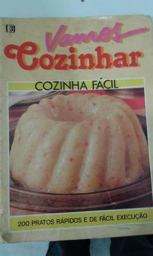 r/m - revista - vamos cozinhar - cozinha facil - 200 pratos