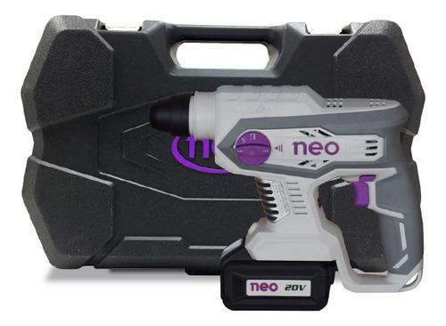 rm1022/20k2 - rotomartillo recargable con 2 baterias 20v neo