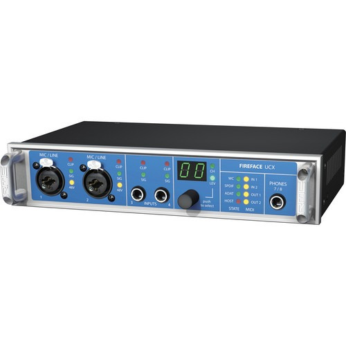 rme fireface ucx 18 canales usb