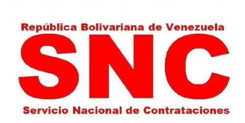 rnc registro nacional de contratistas snc contabilidad