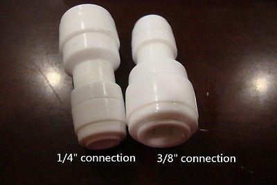 ro di tubo de 1/4  x 3/8  tubo accesorio conector recto 1438