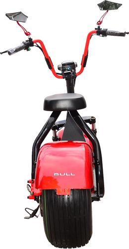 road city scooter vermelha