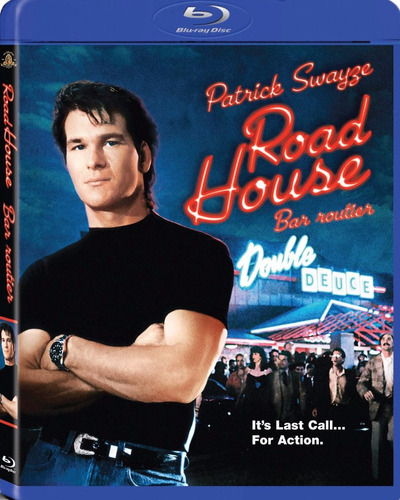 road house - blu ray original- patrick swayse
