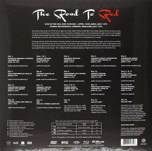 road to red box set king crimson