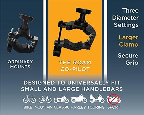 roam universal bike bike mount para motocicleta  manillar de