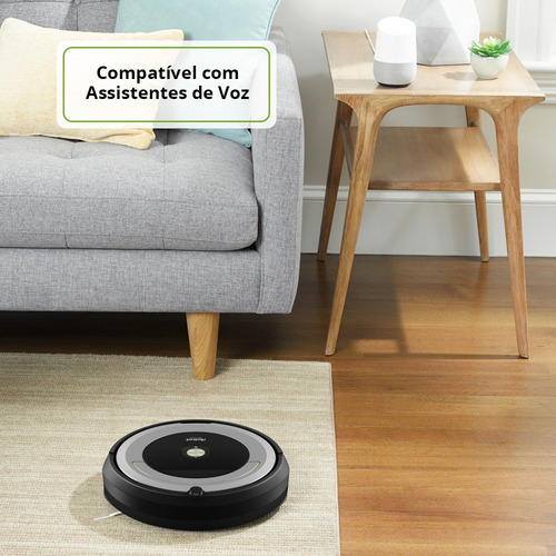 robô aspirador de pó inteligente roomba 690 irobot