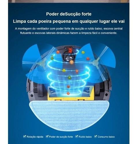 robô aspirador liectroux c30b varre, sucção, passa wifi 2020
