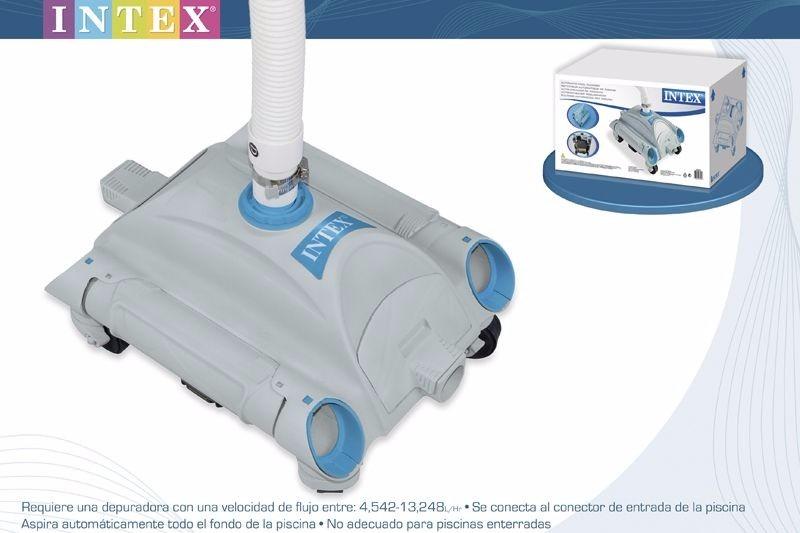 Rob aspirador limpador autom tico de piscinas intex for Aspirador piscina