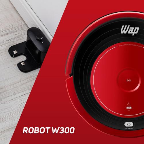 robô aspirador wap robot w300 fw006247 com controle