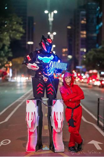 robô de led para eventos