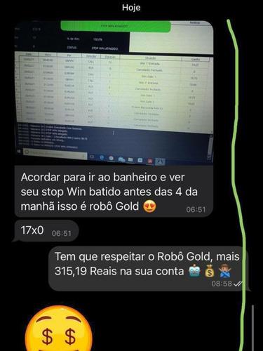 robô gold 3.0