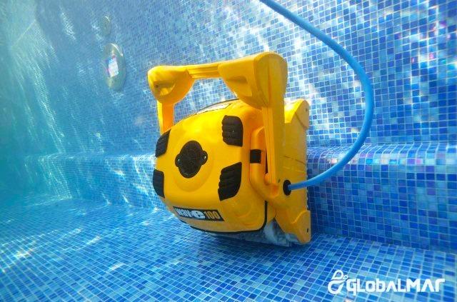 Rob limpador de piscina autom tico robot wave 100 sibrape r em mercado livre - Robot para piscinas ...
