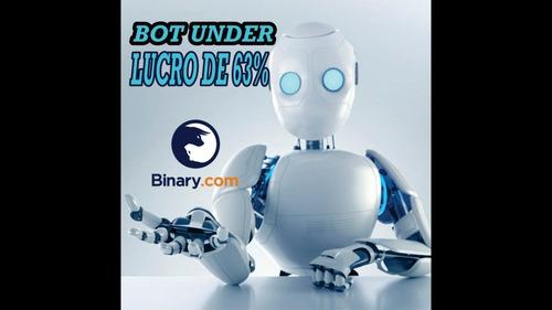 robô mais lucrativo de dígitos da binary