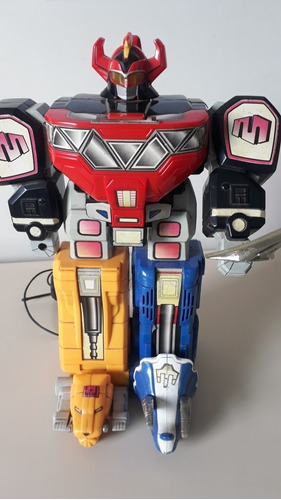 robô  megazord power rangers mega mighties heroes