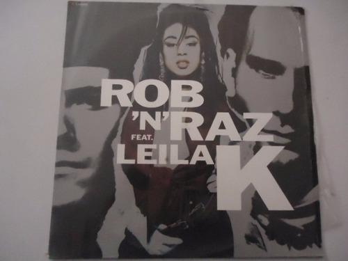 rob 'n' raz fea leila k / got to get vinyl lp acetato