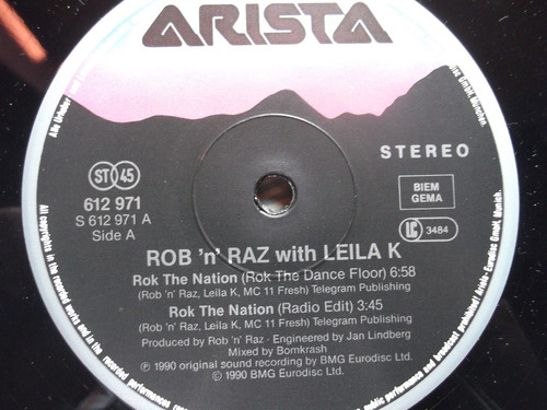 rob 'n' raz feat. leila k ¿¿ rok the nation - 4 tracks