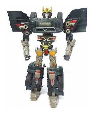 robô xformers mitsubishi pajero buba brinquedos 9513