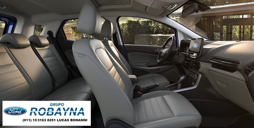 robayna | año 2018 ecosport se 1.5 ford 0 km gris