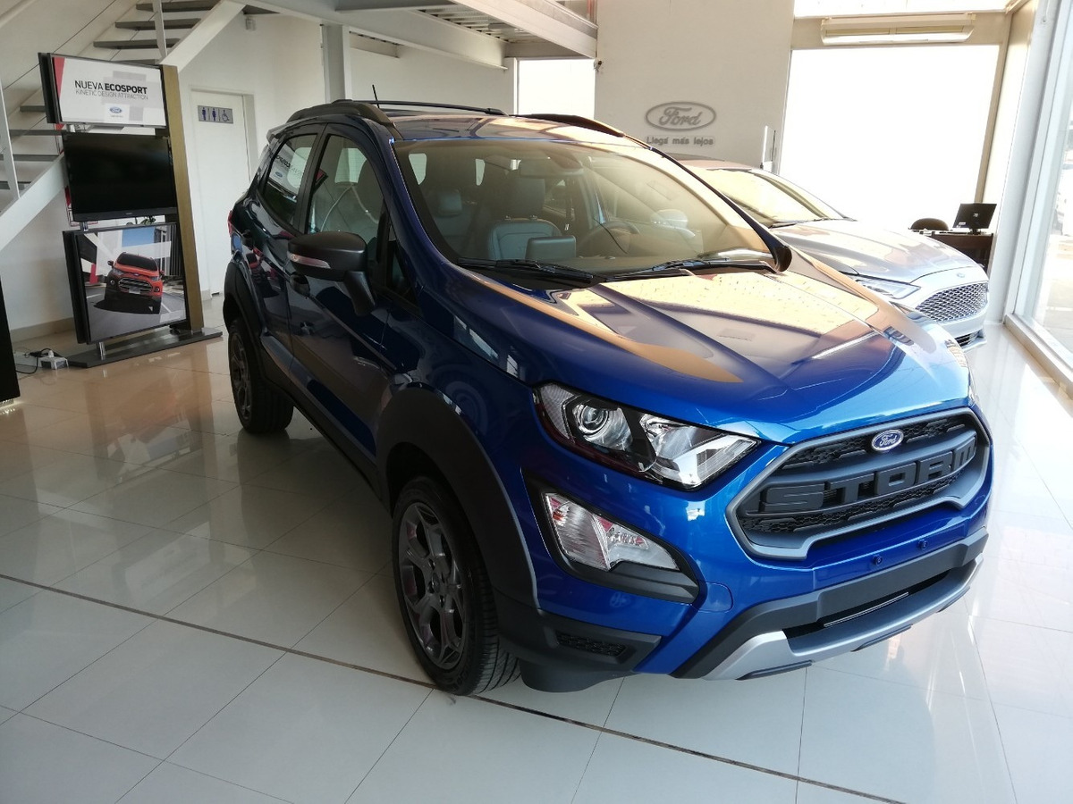 Robayna Ford Ecosport Storm 0 Km Ano 2019 Azul 1 050 000 En