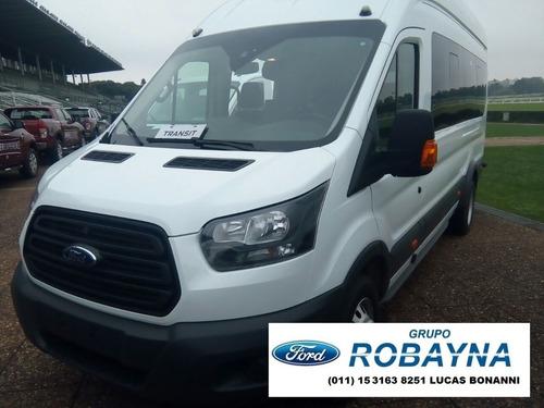 robayna | ford nueva 2.2l transit 0 km minibus año 2018 tdci
