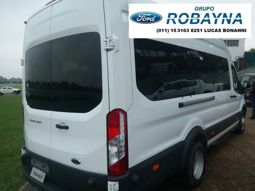 robayna | transit ford 0 km minibus nueva tdci 2.2l año 2018