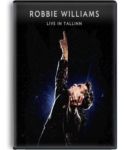 robbie williams live in tallinn dvd con 22 canciones