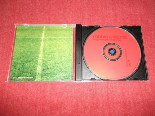 robbie williams - sing when... enhanced cd imp ed 2000 mdisk