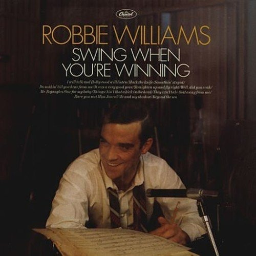 robbie williams swing when you're winning vinilo nuevo imp