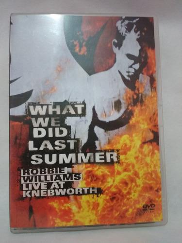 robbie williams - what we did last summer 2dvd