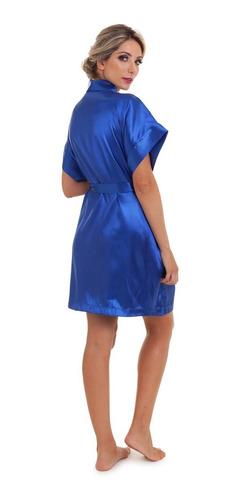 robe hobby de cetim varias cores pronta entrega full
