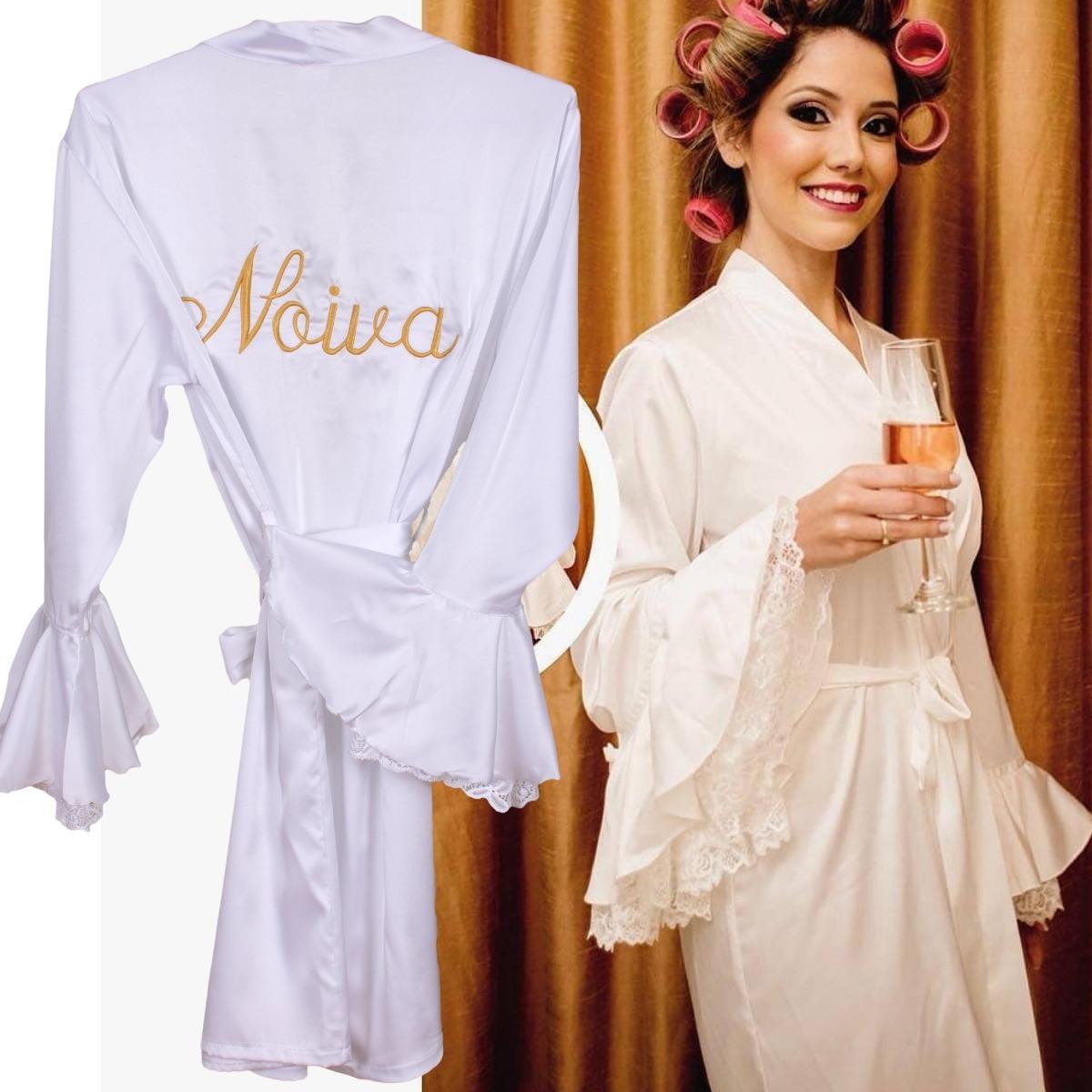 e530c4d3f robe roupao cetim robby cetim robe seda robe noiva luxo. Carregando zoom.