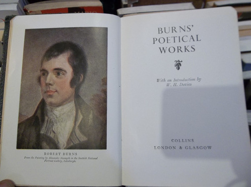 robert burns ' poetical works. poesia eshop el escondite