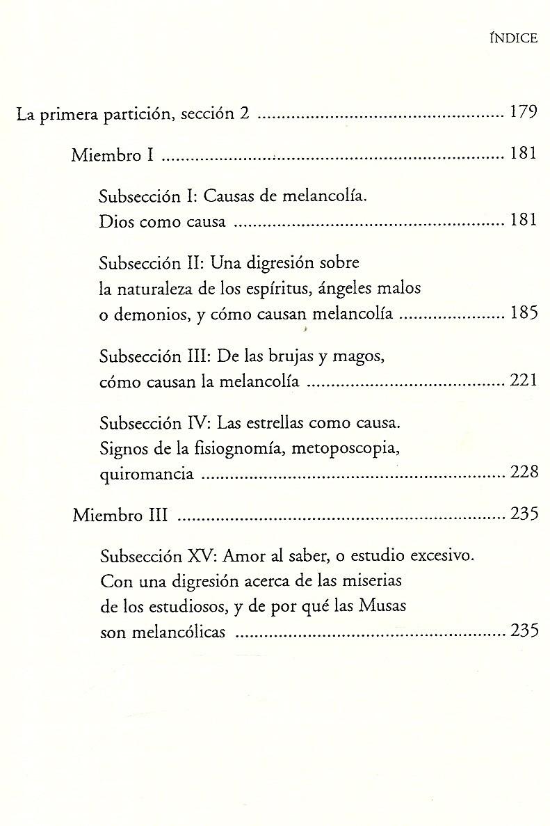 Contemporáneo Anatomía De La Melancolía Burton Foto - Imágenes de ...