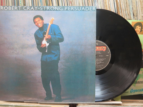 robert cray band strong persuader lp mercury 1987 stereo