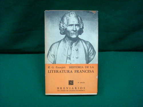 robert g. escarpit, historia de la literatura francesa