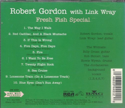 robert gordon fresh fish special 97 punkabilly(ex-)cdimp***