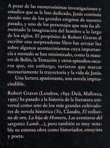 robert graves rey jesus novela histórica no envio
