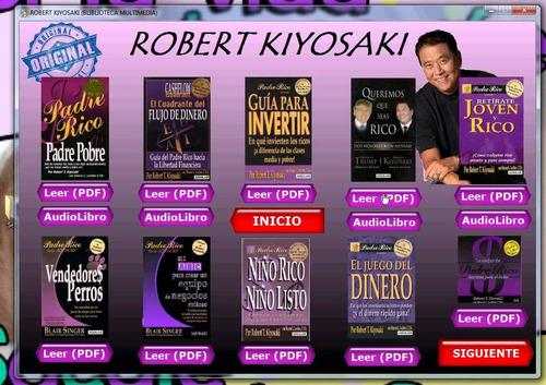 robert kiyosaki libros digital coleccion completa+audiolibro