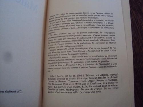 robert merle malevil novela en frances guerra atomica