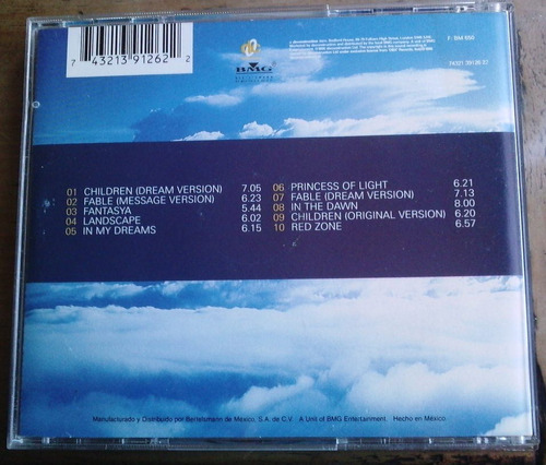 robert miles dreamland cd 1a ed  c/ booklet orig a color sp0