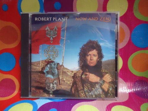 robert plant cd now and zen, 1988, usa