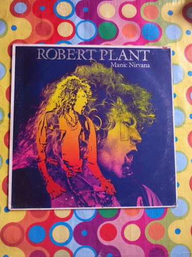 robert plant lp manic nirvana 1990