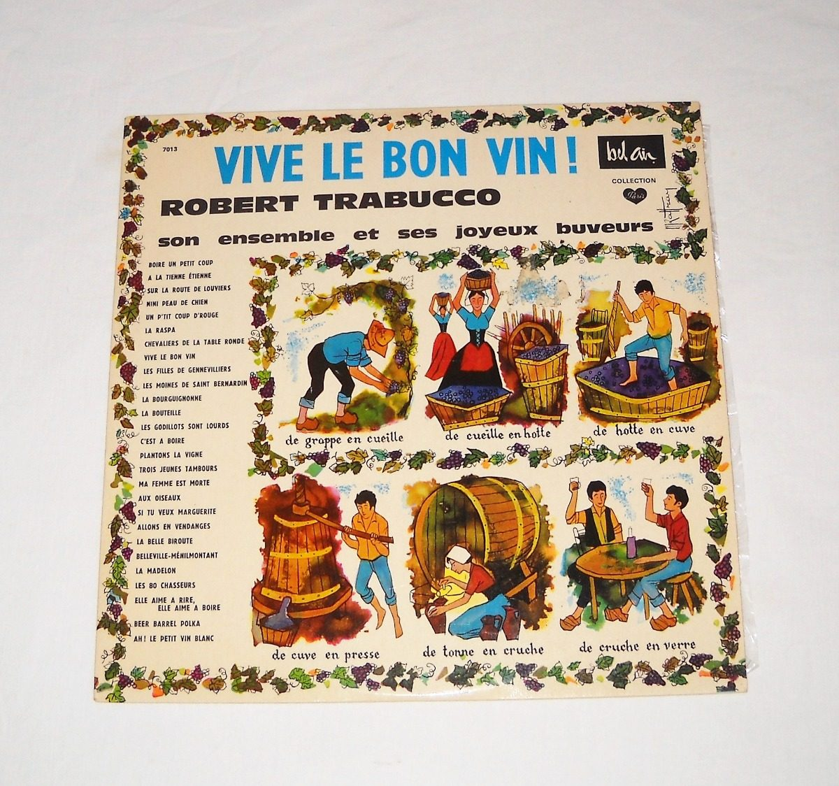 add7e63b7c3 Robert Trabucco Son Ensemble Vive Le Bon Vin! Lp Vinilo -   125